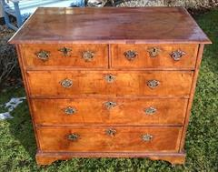 06012018Antique 18th Century Walnut Chest of Drawers 23d maxfeet 34½ high 37¾w max _14.JPG