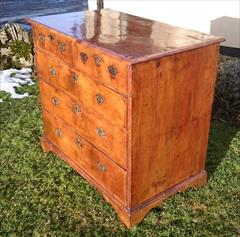 06012018Antique 18th Century Walnut Chest of Drawers 23d maxfeet 34½ high 37¾w max _19.JPG