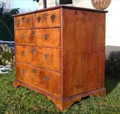 06012018Antique 18th Century Walnut Chest of Drawers 23d maxfeet 34½ high 37¾w max _20.JPG