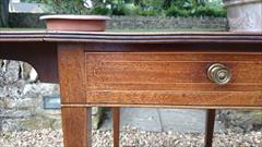 Antique 18th Century George III Mahogany Pembroke Table 30d 22w 43w 28½h _15.JPG