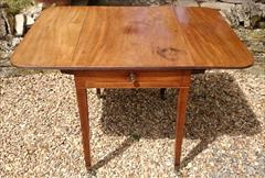 Antique 18th Century George III Mahogany Pembroke Table 30d 22w 43w 28½h _5.JPG