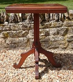 Antique Arts And Crafts Wine Table Pine and Oak 23d 23w 29½h _5.JPG
