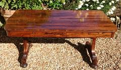 Antique 19thCentury Library Table Sofa Table 57x28x28halfhighx23halfknee_9.JPG