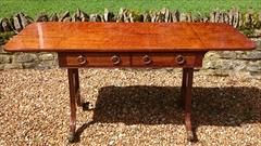 Antique 19th Century Regency Antique Sofa Table 26d 60½or36w 28½ _1.JPG