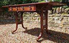 Antique 19th Century Regency Antique Sofa Table 26d 60½or36w 28½ _7.JPG