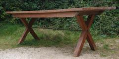 05092017Antique 18thCentury Elm and Sycamore Refectory Table 33w 87w 29h _11.jpg
