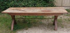 05092017Antique 18thCentury Elm and Sycamore Refectory Table 33w 87w 29h _2.jpg