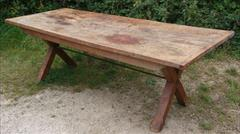 05092017Antique 18thCentury Elm and Sycamore Refectory Table 33w 87w 29h _3.jpg