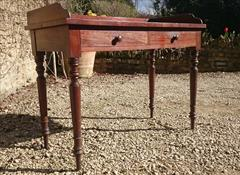26092017Antique Mahogany Dressing Table Washstand Attrib Gillow 20½d 42½w 30h 33½h 4.JPG