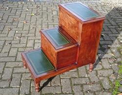 13102017Antique 19th century mahogany step commode 17½w 26h 27d _1.JPG