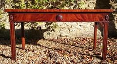 0711201719th Century Mahogany Antique Console Table 31h 28½d 61w _3.JPG