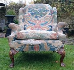 1611201719th Century Antique Howard and Sons Amchair 37d max 32d legframe 31w 18h seat 38½h max _2.JPG