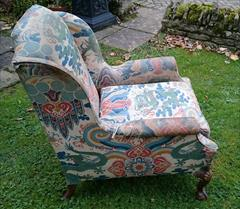 1611201719th Century Antique Howard and Sons Amchair 37d max 32d legframe 31w 18h seat 38½h max _5.JPG