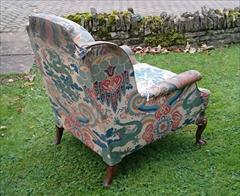 1611201719th Century Antique Howard and Sons Amchair 37d max 32d legframe 31w 18h seat 38½h max _7.JPG
