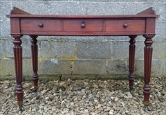 09122017Antique Gillows Mahogany Side Table 24d 45w 30 or 33h _3.JPG