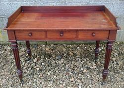 09122017Antique Gillows Mahogany Side Table 24d 45w 30 or 33h _1.JPG