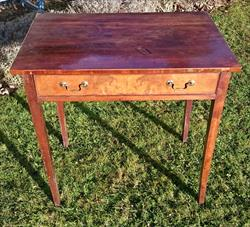 0601201818th Century Antique Mahogany Side Table 30w 20d 29½h _1.JPG