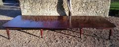 1801201819th Century Extending Antique Dining Table James Winter Mahogany 66w 57½L 177L 29h leaves 24½ 24 24½ 24½ 9½ 12 Leaf Holder 13½w 31½d 74h 111701 _40.JPG