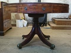 2001201818th Century Drum Table Mahogany Top 48w 47d 30h _4.JPG