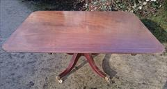 050220181810 Regency Mahogany Breakfast Table 46d 67w 28½h _10.JPG