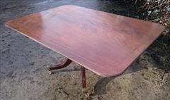 050220181810 Regency Mahogany Breakfast Table 46d 67w 28½h _12.JPG