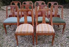 2603201810 20th century biedemier dining chairs 18hs 32½h 18w  20d _8.JPG