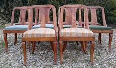 2603201810 20th century biedemier dining chairs 18hs 32½h 18w  20d _9.JPG