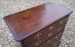 0604201818th century small bachelors antique chest of drawers 16d 30w 31h _10.JPG