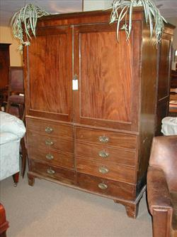 George III mahogany antique wardrobe.jpg
