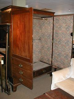 George III mahogany antique wardrobe1.jpg