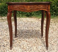 16052018Antique Centre Table Rosewood 27¼ 27½ 29½ high _3.JPG