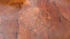 16052018Antique Centre Table Rosewood 27¼ 27½ 29½ high _10.JPG
