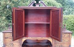 24052018Antique Rosewood Writing Desk 23d 42w 28½h to writing surface 29½h to surface 58h max _17.JPG