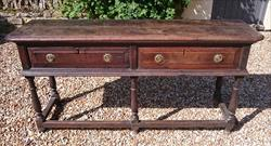 17th Century Antique Dresser Base 18d 66w 31½h_1.JPG.JPG