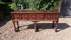 17th Century Antique Dresser Base 19d 35h 75w _1.JPG