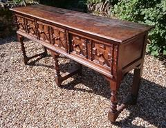 2609201817th Century Antique Dresser Base 19d 35h 75w _4.JPG