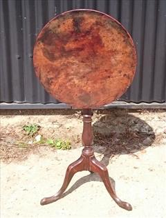 181220181780 Antique Tripod Wine Table 18½ 18¾ w 28¾ h _2.JPG