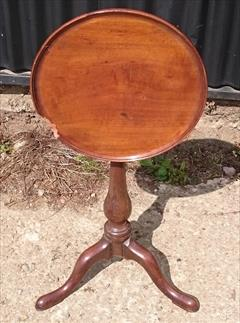 240120191780 Mahogany Tripod Wine Table 13¼ top 22h _1.JPG