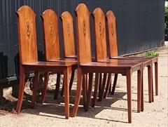 300120191800 Set of Six Hall Chairs 23¾w 23d 17¼ hs 37h _12.JPG