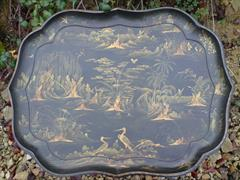 Chinoiserie Regency antique lacquer tray1.jpg