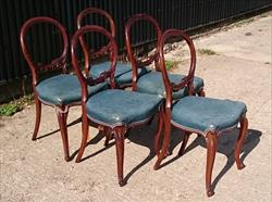 090320195 Rosewood Antique Dining Chairs 35 or 89cm high 19 or 44cm deep 18 or 46cm hs 18 or 46cm wide _1.JPG