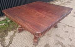 1403201919th Century George IV Mahogany Extending Antique Breakfast Table Dining Table 60 long 135¾ long 54 wide 28½ high leaves 26½ 26½ 22¼ _11.JPG