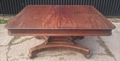 1403201919th Century George IV Mahogany Extending Antique Breakfast Table Dining Table 60 long 135¾ long 54 wide 28½ high leaves 26½ 26½ 22¼ _2.JPG