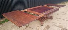 1403201919th Century George IV Mahogany Extending Antique Breakfast Table Dining Table 60 long 135¾ long 54 wide 28½ high leaves 26½ 26½ 22¼ _22.JPG