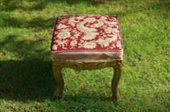 C19th gilt antique stool1.jpg