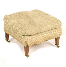 Howard and Sons of London antique footstool.jpg