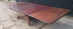 0204201919th Century George IV Mahogany Extending Antique Breakfast Table Dining Table 60 long 135¾ long 54 wide 28½ high leaves 26½ 26½ 22¼ _38.JPG