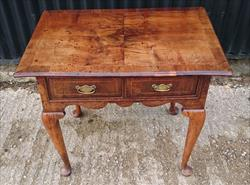 0604201918th Century George I Walnut Lowboy 29½ 75 W 19¼ 49 D 25¼ 64 H 1.JPG