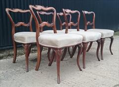 270720196 antique dining chairs cabriole legs 19w 19d 32h 18hs _6.JPG