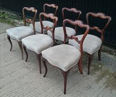 270720196 antique dining chairs cabriole legs 19w 19d 32h 18hs _9.JPG